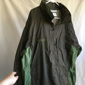Men's Columbia Windbreaker Jacket 2xl